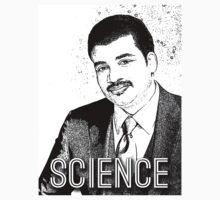 Neil Degrasse Tyson the Science God by geekchicprints