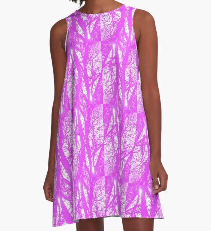 Lavender Deja Vu A-Line Dress