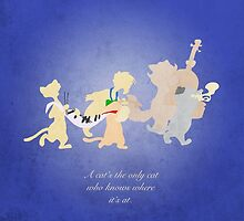 Aristocats inspired design (Alley Cats). by topshelf