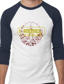 rogue one- I rebel in Aurebesh Men's Baseball ¾ T-Shirt