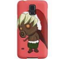 Zelda Christmas Card: Peppermint Deku Scrub Samsung Galaxy Case/Skin