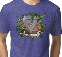 vw split screen camper  Tri-blend T-Shirt