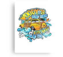 Surfer woody's t shirt Canvas Print