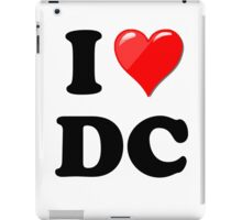 I Love DC iPad Case/Skin