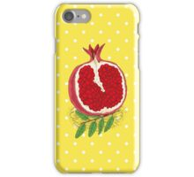 Pomegranate iPhone Case/Skin