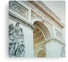 Letters From Triomphe - Paris Metal Print