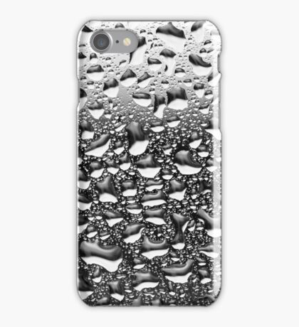 Rain Water Drops on Window iPhone Case/Skin