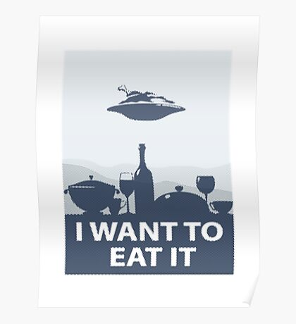 I WANT TO EAT IT Poster