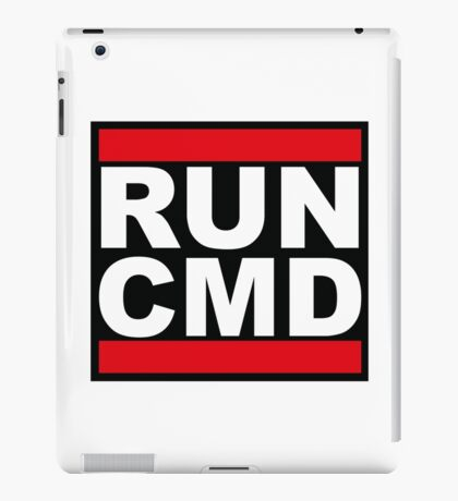 Run CMD iPad Case/Skin