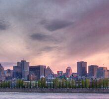 Montreal, Quebec, Canada Skyline Sticker