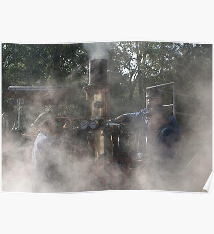 We love steam Poster