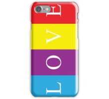 Multicoloured Love Phone Case iPhone Case/Skin