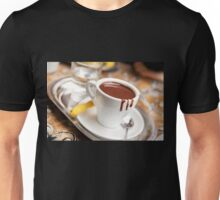 cup with hot milk chocolate Unisex T-Shirt