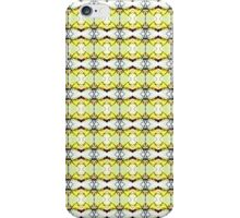 red Malus Radiant crab apple blossoms #7, yellow tint pattern iPhone Case/Skin