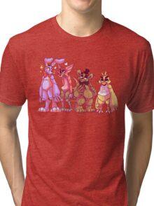 The Fazbear friends! Tri-blend T-Shirt
