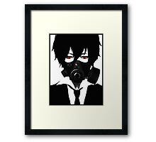 Anime [RED eyes] Framed Print