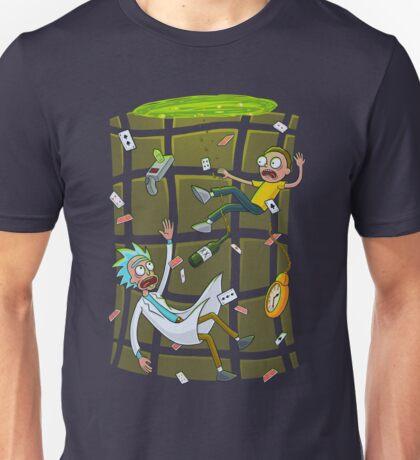 Ricked in wonderland Unisex T-Shirt