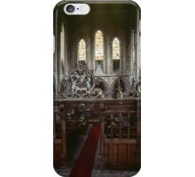 Screen and Nave Abbey Dore England 19840517 0050 iPhone Case/Skin