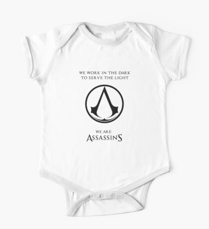 we are assassins One Piece - Short Sleeve
