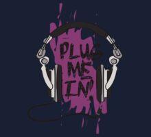 Plug Me In (Purple) Kids Clothes