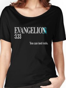 Evangelion 3.33 Title card Women's Relaxed Fit T-Shirt
