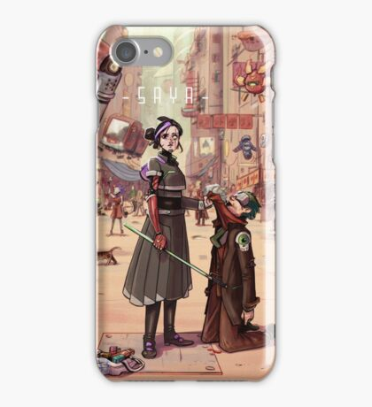 Saya - TokyoZ downtown iPhone Case/Skin