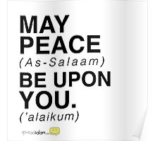 May Peace Be Upon You. Poster