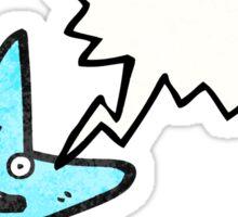 starfish cartoon character Sticker