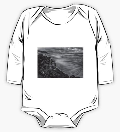 Downhill Waves One Piece - Long Sleeve