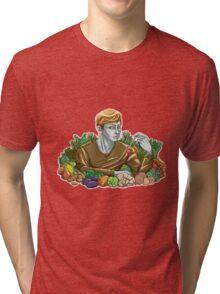 Kieren and Vegetables Tri-blend T-Shirt