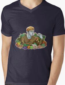 Kieren and Vegetables Mens V-Neck T-Shirt