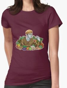 Kieren and Vegetables Womens Fitted T-Shirt