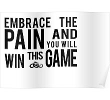 Embrace the Pain... Poster