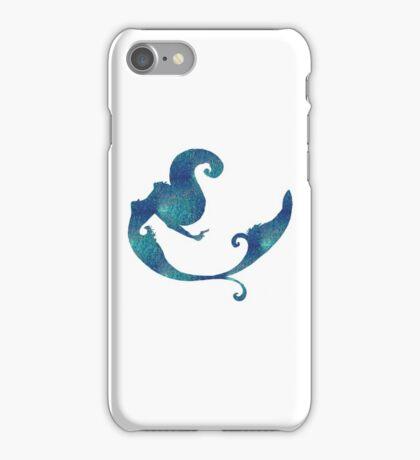 Aqua iridescent mermaid  iPhone Case/Skin