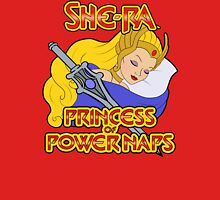 She-Ra, Princess of Power Naps Womens Fitted T-Shirt