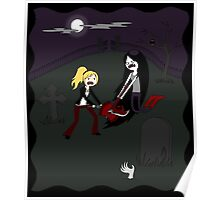 Buffy vs. Marceline Poster