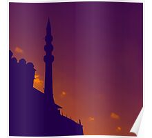 Purple Mosque Poster