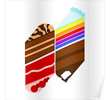 Cake Illusions Poster