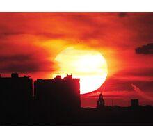 New York City Sunset Photographic Print