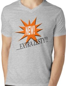 New... extra zesty Mens V-Neck T-Shirt