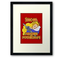 She-Ra, Princess of Power Naps Framed Print