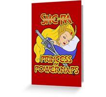 She-Ra, Princess of Power Naps Greeting Card