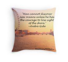inspiring quotes Throw Pillow