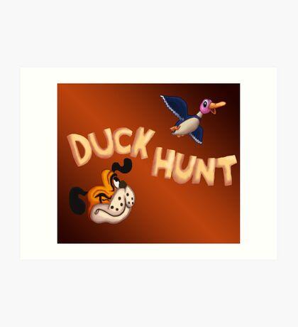 The Duck Hunt Show Art Print