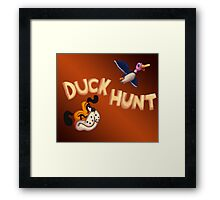 The Duck Hunt Show Framed Print