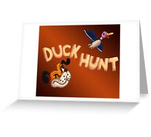 The Duck Hunt Show Greeting Card