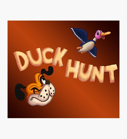 The Duck Hunt Show Photographic Print