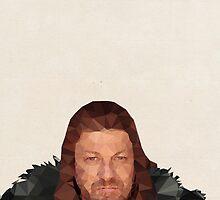 Ned Stark by pop-lygons