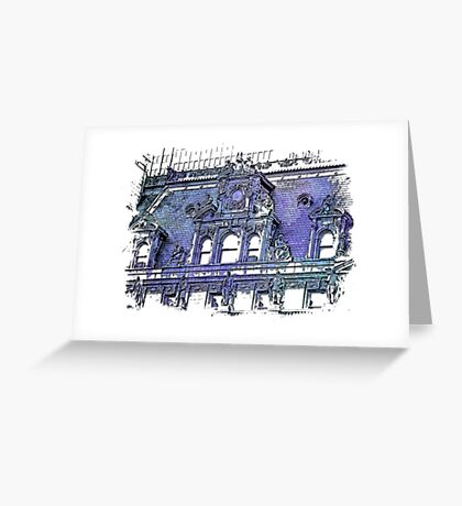Forefathers ~ Berry Blues Greeting Card