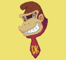 Donkey Kong Pixel One Piece - Short Sleeve